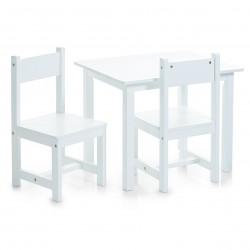 Laste komplekt (laud ja 2 tooli)
