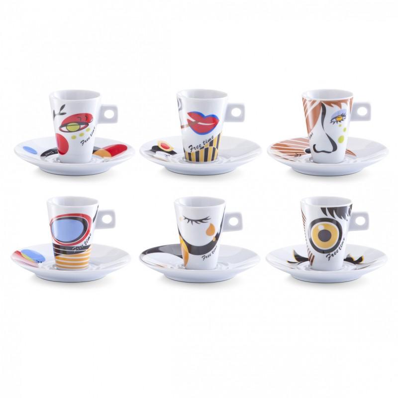 espresso komplekt faces 12 tk freshdesign. Black Bedroom Furniture Sets. Home Design Ideas