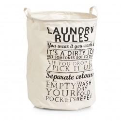 "Pesukorv ""Laundry Rules"""