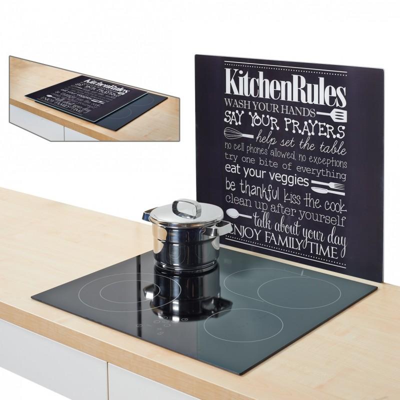 "Pritsmekaitse/pliidiplaadi kate ""Kitchen Rules"""