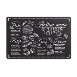 """Lauamatt """"Italian menu"""", must"""