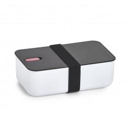 Toidukarp, valge/must/roosa