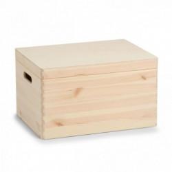 Puidust karp kaanega